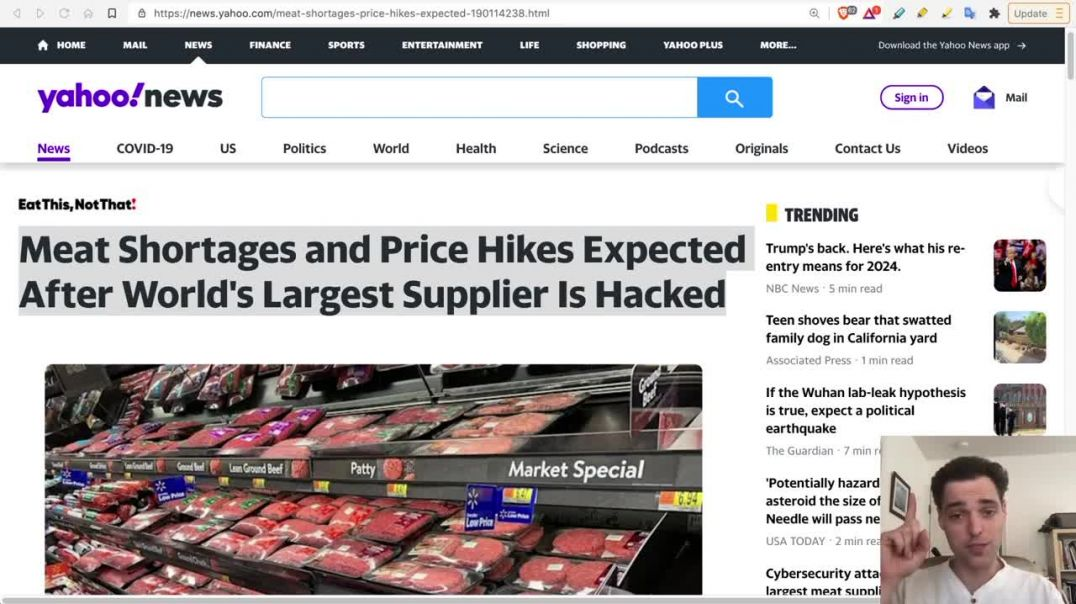 JBS Shutdown - Biggest Attack on Food in History - Shortages Expected