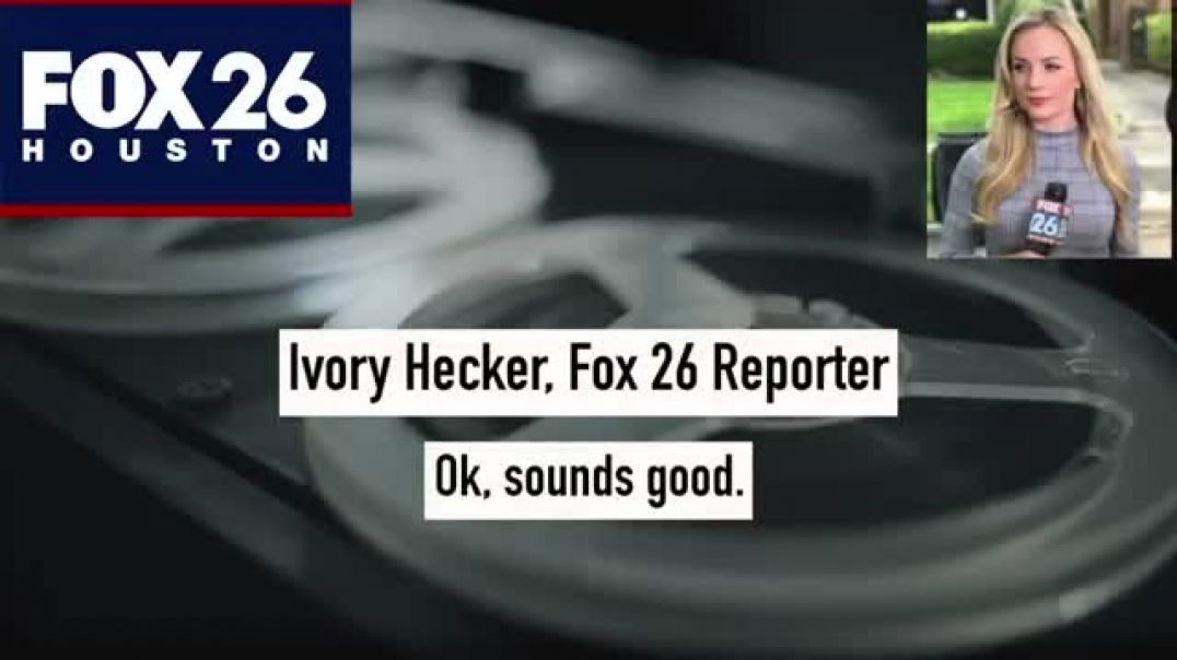 HOUSTON TV REPORTER IVORY HECKER SUSPENDED EFFECTIVE IMMEDIATELY FOLLOWING HER ON-AIR ANNOUNCEMENT