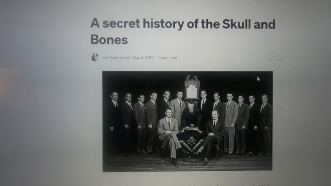 Batman and Robin episode connection to Skull and Bones secret society.