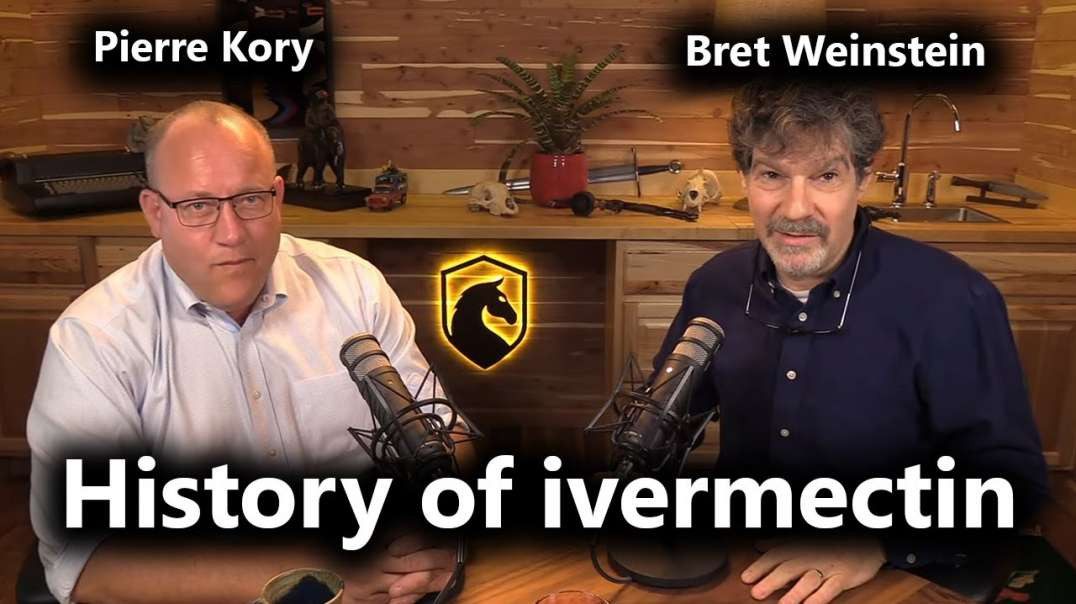 The Discovery and COVERUP of Ivermectin COVID treatment! - Dr Pierre Kory and Bret Weinstein