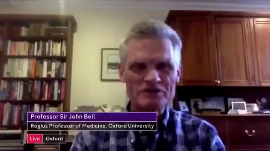 Professor Sir John Bell - These vaccines are unlikely to completely sterilize a population (11/2020)