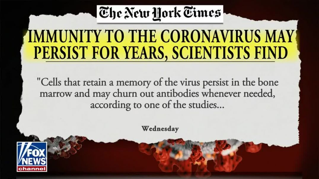 Harvey Risch and Peter McCullough - Natural Immunity to Covid-19 - The Ingraham Angle - May 27, 2021