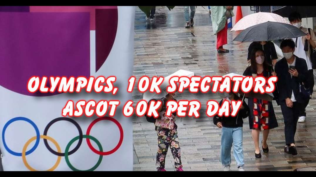 Olympics spectator number limited but Ascot isn't