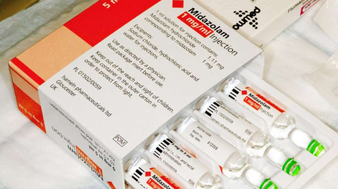WtF's Morning Tyranny Report 06-05-2021 Urgent Information On The Use Of Midazolam!