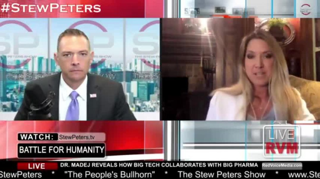 """STEW PETERS INTERVIEWING DR. CARRIE MADEJ - THE TRUTH ABOUT THE KILL SHOT - """"THERE'S NO OF"""
