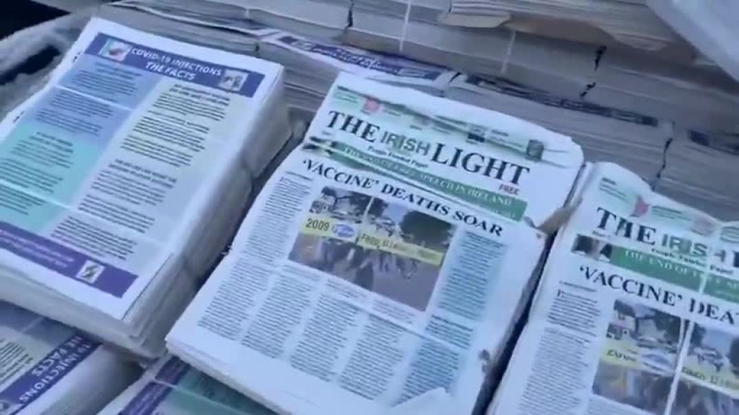 THE IRISH LIGHT - VACCINE DEATHS SOAR (PEOPLE-FUNDED PAPER)
