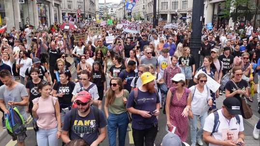 26th June Freedom Demo in Central London
