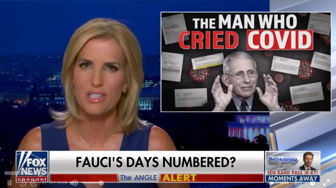 Are Fauci's Days Numbered?  They Better Be!!