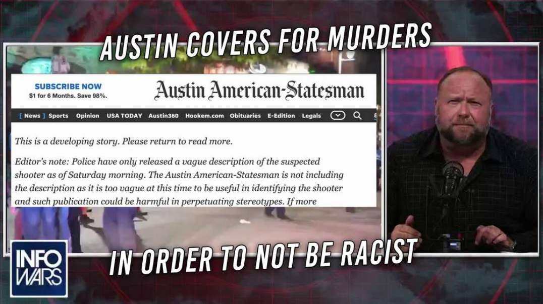 Newspaper Admits To Withholding Identity Of Mass Shooter