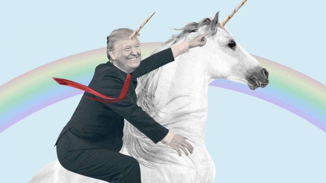 WHITE-HATS ARE RIDING IN ON UNICORNS 2 SAVE US