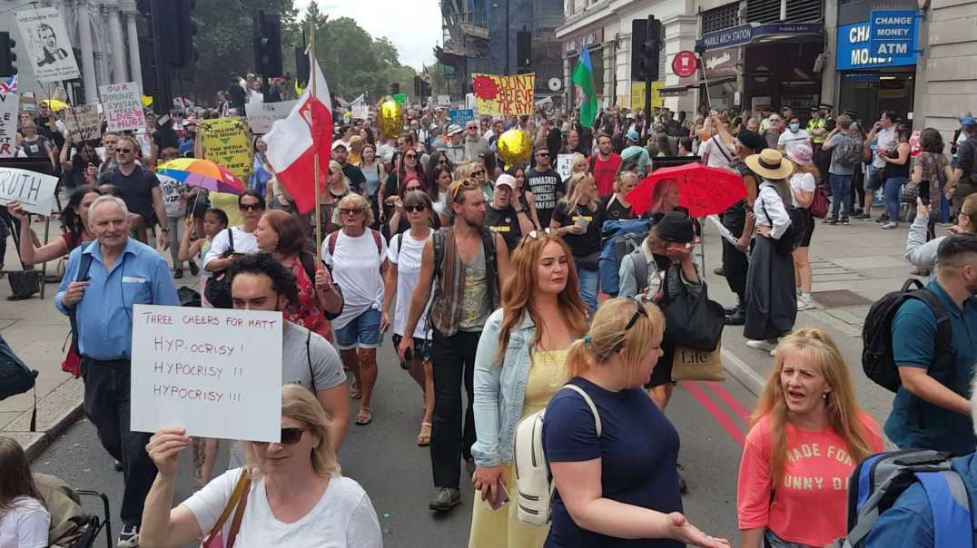 Unite For Freedom Rally, London (26/06/21)