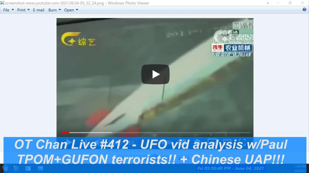 Too Funny Fraud UFO Proof FAILs bigtime and TPOM Melts down over LUEs Rejection ] - OT Chan Live-412