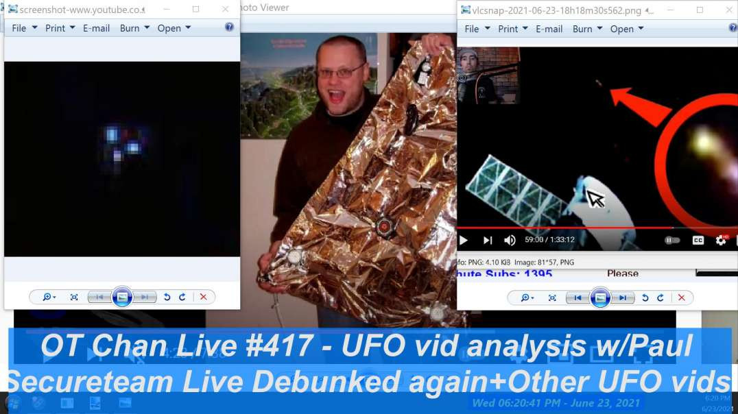 Relax with UAP Updates+Other UFO vids+SecureTeam Live Breakdown ] - OT Chan Live-417