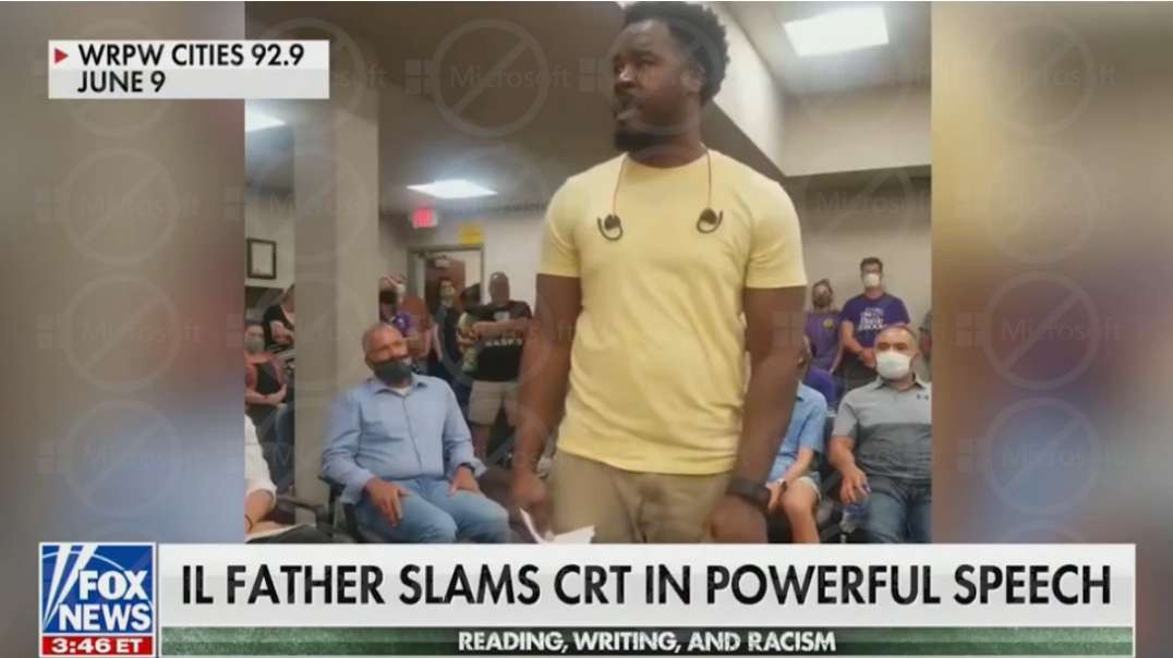 Black Father Explodes At Critical Race Theory During School Board Meeting