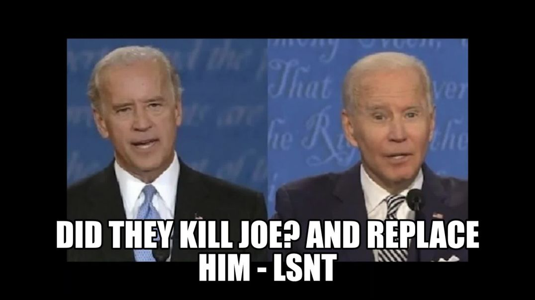 What Happened To The REAL JOE BIDEN Did They Clone Him