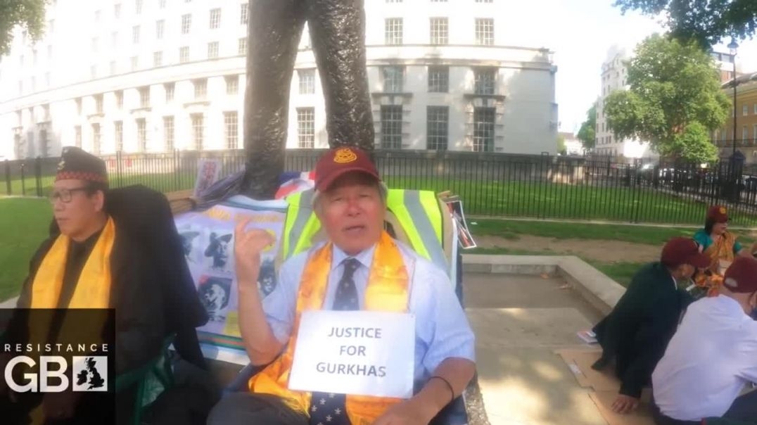 """Gurkha Veterans on Hunger Strike: """"One or two may die - Nevermind!"""""""