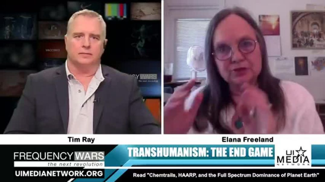 Transhumanism.. Chemtrails and technology integrated into the body.. Internet of things