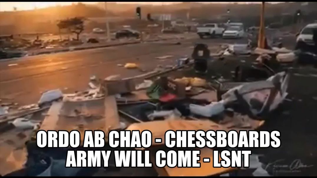 ORDO AB CHAO - South Africa Begging For Martial Law Asking For ARMY ASSISTANCE! See Notes