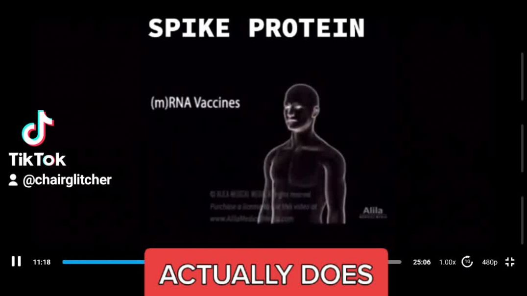 YOUTUBE BANNED COVID VID SHOWING WHERE SPIKE PROTEIN GOES