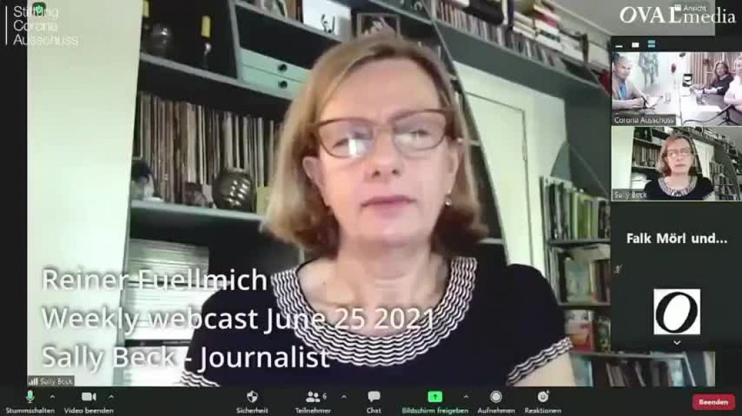 Daily Mail Reporter Sally Beck Goes Rouge, Blows Whistle On GOV and Rights for the Vaxxed