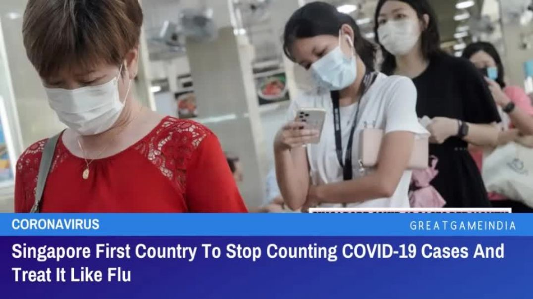 Singaport DOWNGRADES Covid to the Flu, Stops JABBING Youth and a New Breath TEST! NWO Falling?