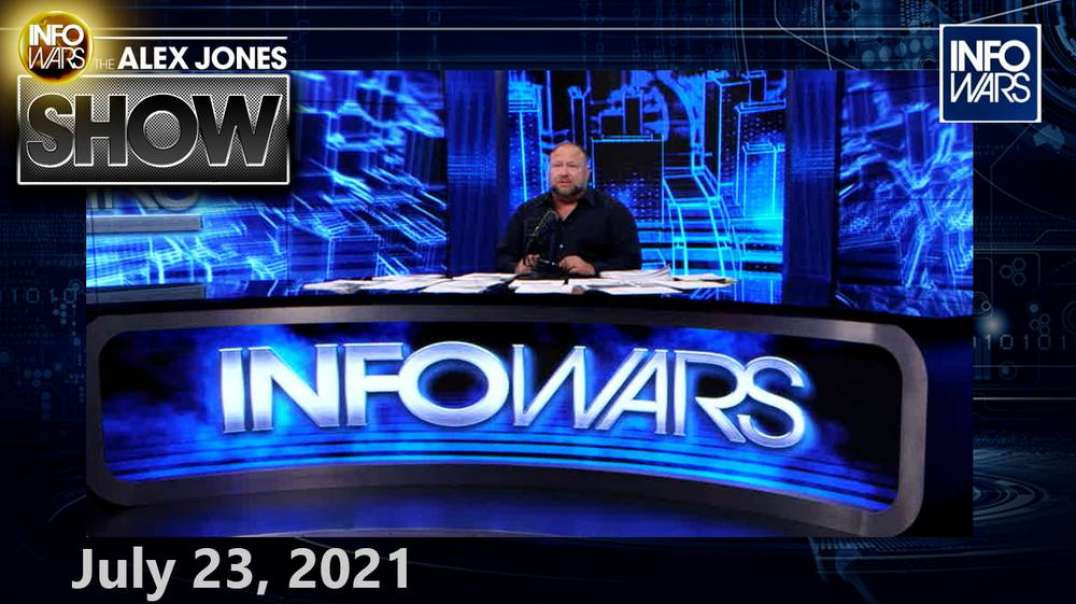 UK Panics After Second Lockdown Quietly Declared – MUST WATCH FULL SHOW 7/23/21