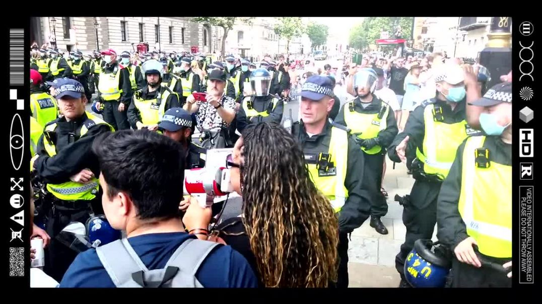 (EMB) WORD ON THE CURB - FREEDOM FIGHTERS STANDING STRONG IN THE FACE OF TYRANNY (19/07/21)