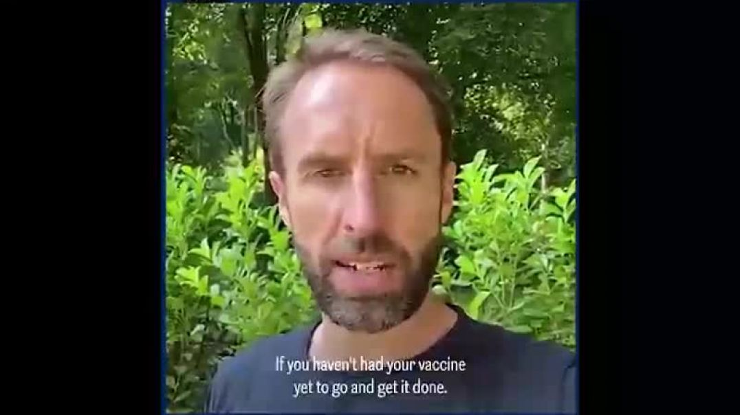 Now Gareth Southgate wants all of the youngsters JABBED - with subtitles