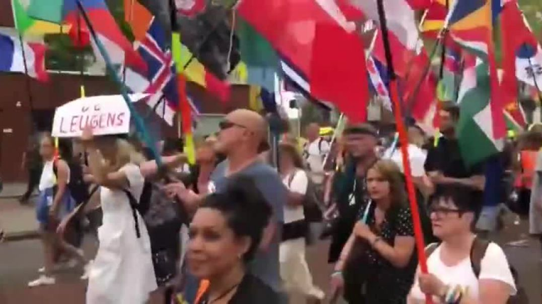 Vaccine And Vaccine Passport Protest - Netherlands July 24