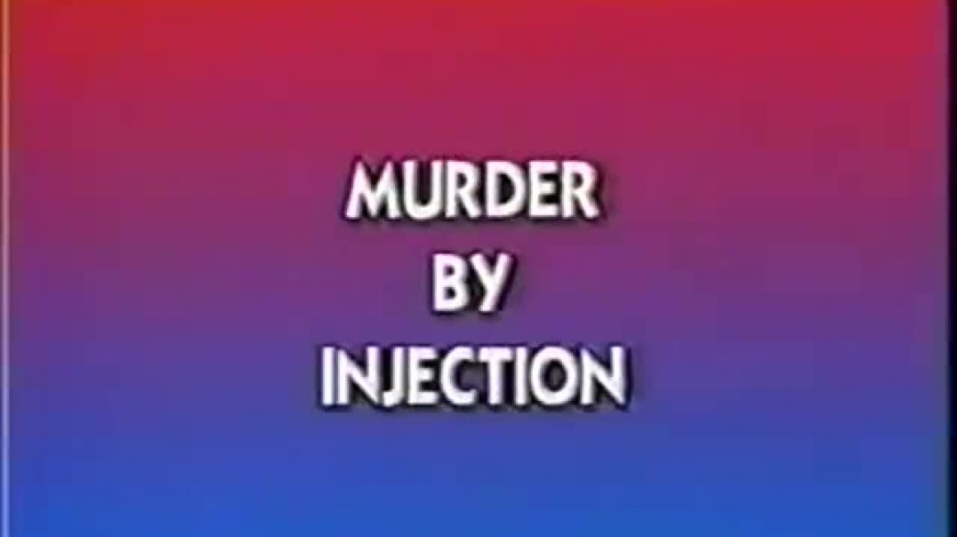 Eustace Mullins (1923-2010), discusses one of his best-selling books; 'Murder by Injection'