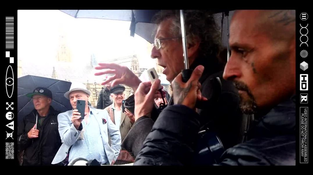 (EMB) PIERS CORBYN BEING CLEAR WITH THE PUBLIC (21/06/21)