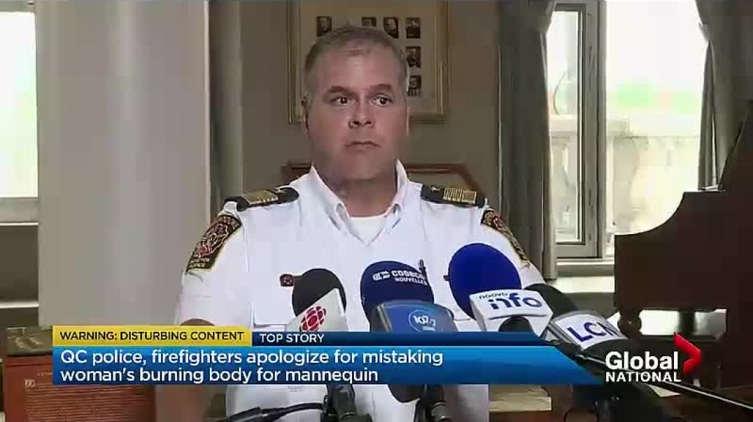 DUMB Canadian Cops throw a woman's dead body into a DUMPSTER