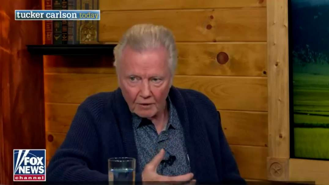 Awesome Interview with Actor Jon Voight on Faith - Tucker Carlson