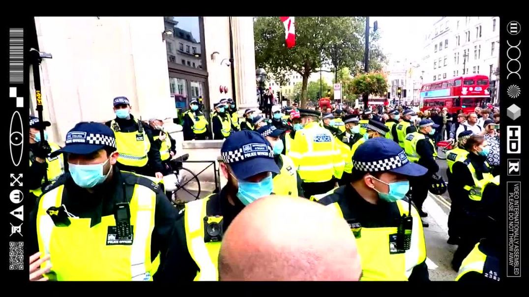 (EMB) WORD ON THE CURB - GREAT BRITAIN OR NAZI GERMANY THAT IS THE QUESTION (13/09/20)