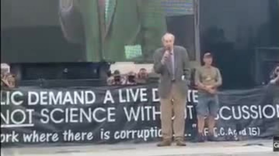 Vernon Coleman's Speech At London Freedom Protest 24th July 2021
