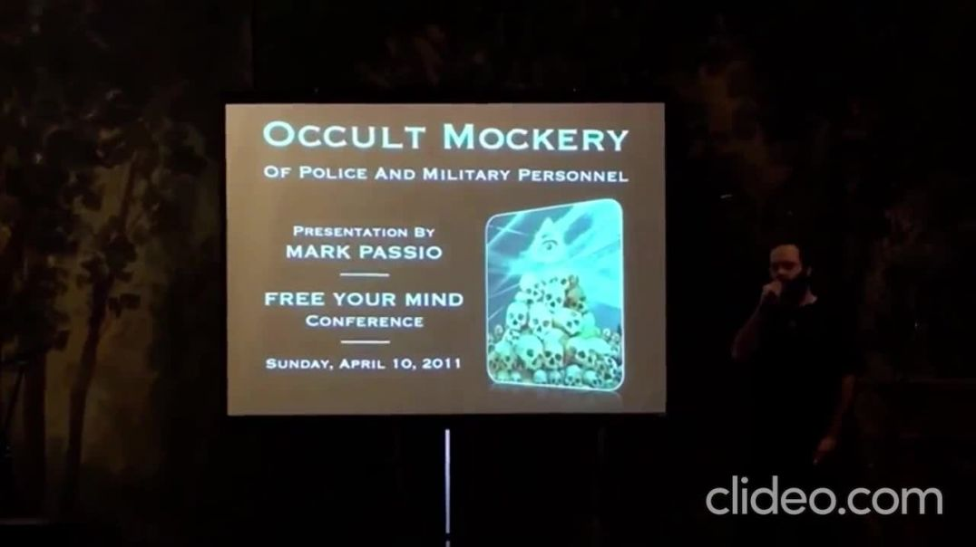 Occult Mockery Of Police And Military By Their Elite Masters