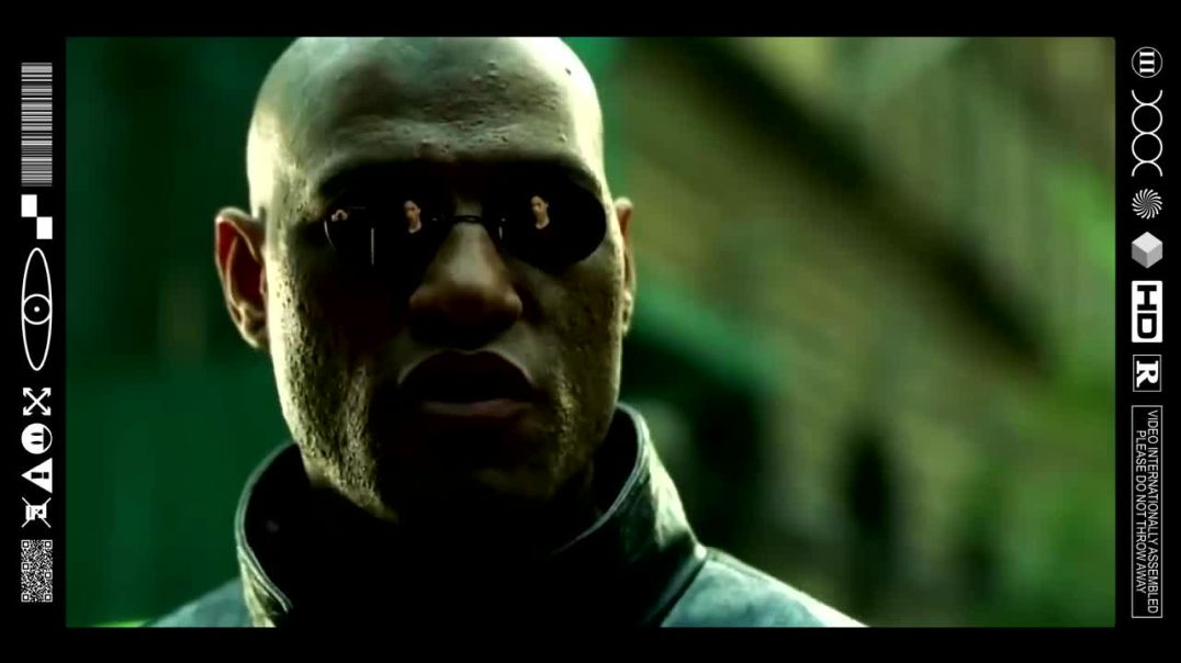(EMB) FOOD FOR THOUGHT - THE MATRIX IS A SYSTEM & THAT SYSTEM IS OUR ENEMY! (FILMCLIP FLASHBACK)