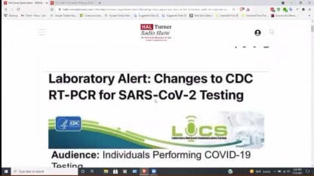 """CDC Capitulates: Declares PCR Tests as UNFIT to Diagnose """"Covid"""""""