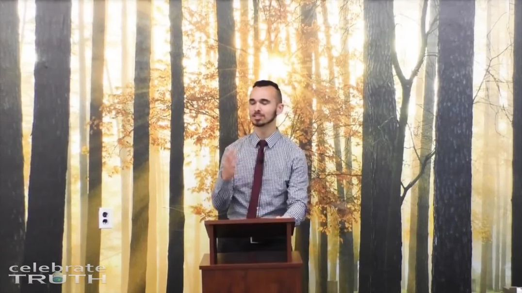 Pastor Preaching Flat Earth Truth from the Bible. Amazing evidence.
