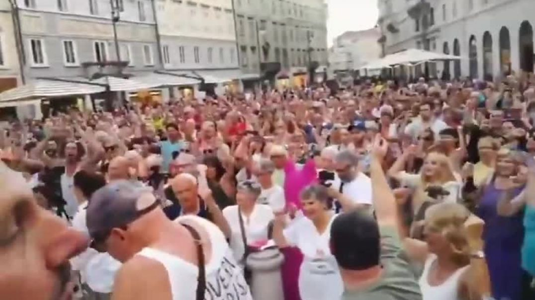 July 24 Italy Protests Against Vaccine Passports