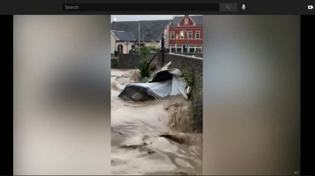 Catastrophic Flooding In Europe, Germany Hit Hard, 42 Dead, Whole Towns Destroyed NLT 15/07