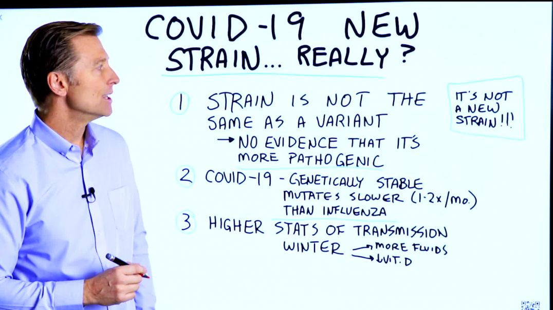 New Deadly COVID Strain, Really? – Dr Berg