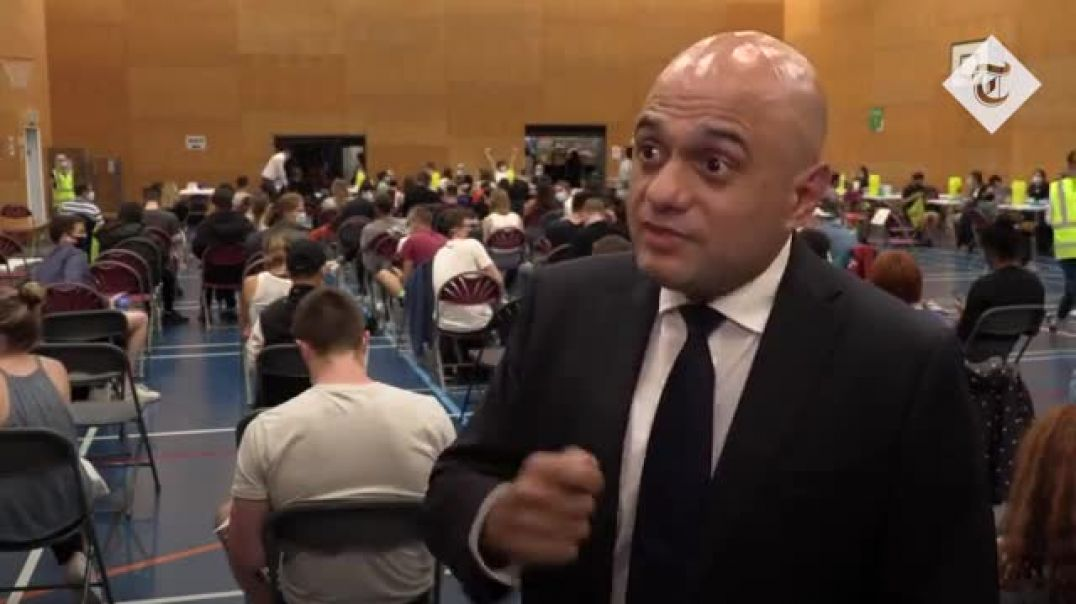 Vaccines will liberate young people - says SADIST JAVID
