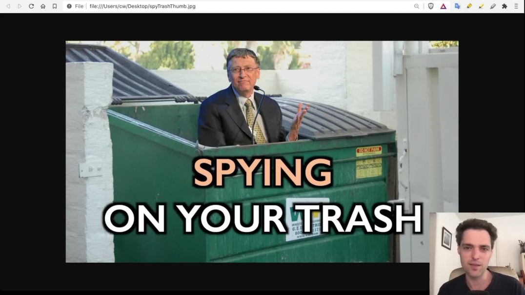 Spying On Your Thrash: AI + Dumpster Cams For The Circular Economy.