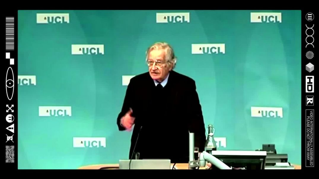 (EMB) FOOD FOR THOUGHT - NOAM CHOMSKY- NEW WORLD ORDER SINCE WW2 (THE WORLD IS A STAGE)