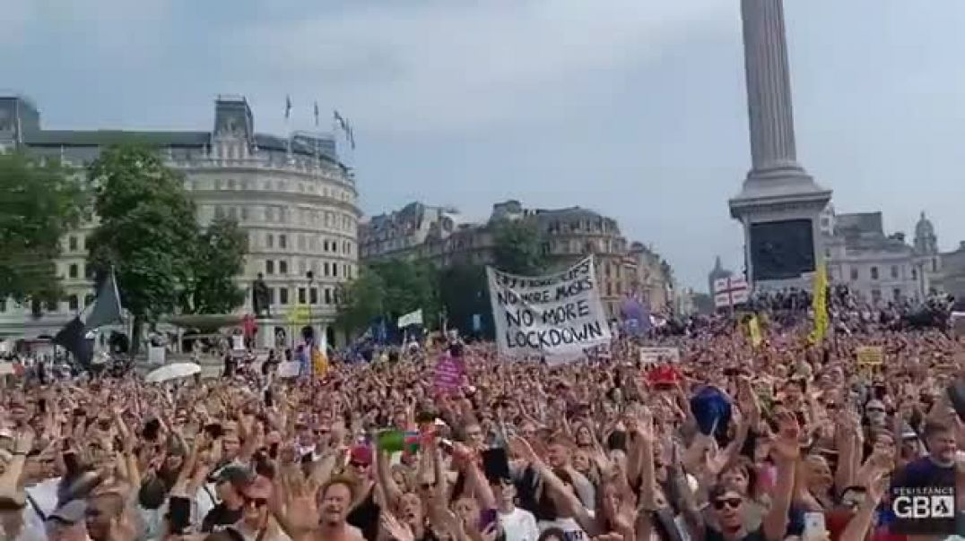 UK: LONDON ~  UNITING FOR FREEDOM ~ YOU'LL NEVER WALK ALONE!