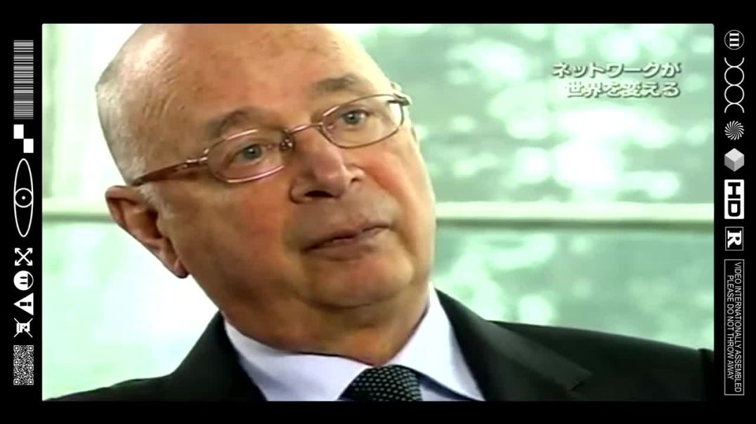 (EMB) FOOD FOR THOUGHT - KLAUS ANAL SCHWABS PORTRAIT ON NHK PUTS IT ALL IN PERSPECTIVE (2009)