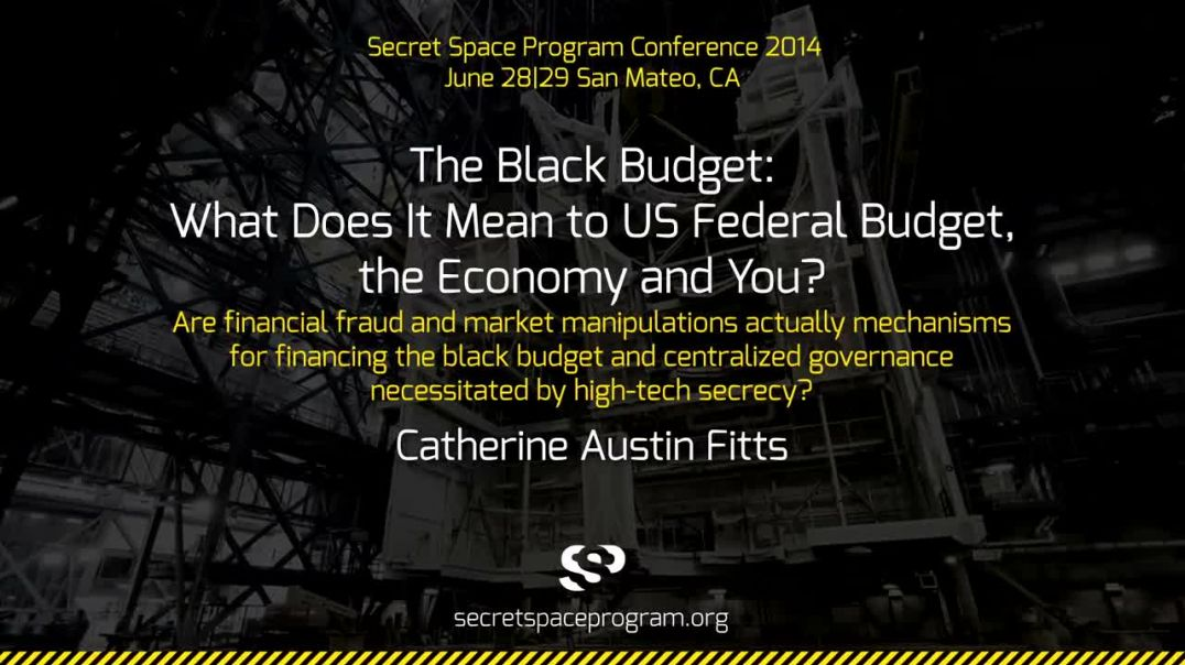 The Black Budget _ Catherine Austin Fitts