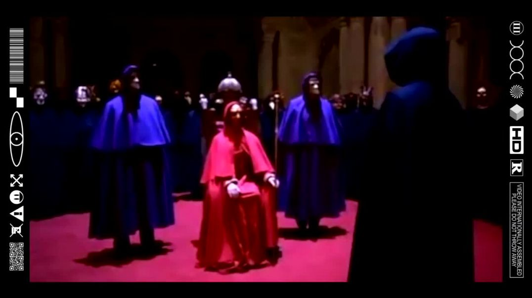(EMB) FOOD FOR THOUGHT - MASKED MEN BEHIND CLOSED DOORS - EYES WIDE SHUT (FILMCLIP FLASHBACK)