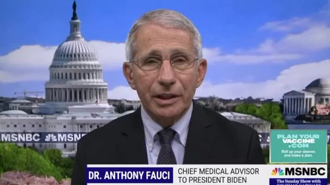 Fauci the liar now claiming that the unvaccinated cause the Virus to mutate!